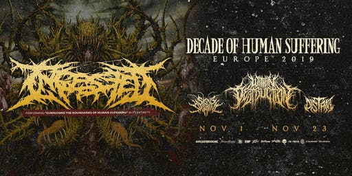 "Ingested: ""Decade Of Human Suffering"" Tour"