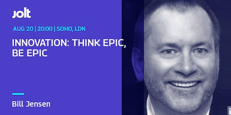 Innovation: Think Epic, Be Epic tickets