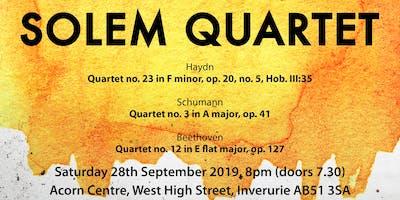 Solem String Quartet Concert