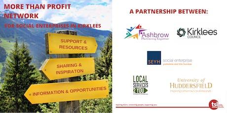 More Than Profit Network (for social enterprises in Kirklees) tickets