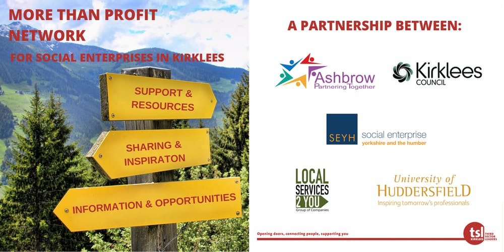 More Than Profit Network (for social enterprises in Kirklees