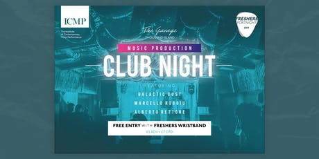 ICMP Music Production Club Night tickets