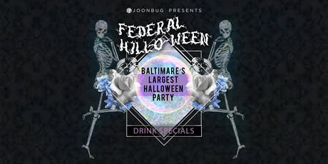 Baltimore Halloween Event 11th Annual Federal Hill-O-Ween Bar Crawl tickets