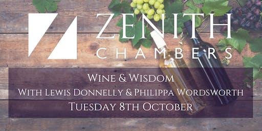 Lewis Donnelly & Philippa Wordsworth - Wine & Wisdom