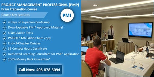 PMP (Project Management) Certification Training In Raleigh, NC