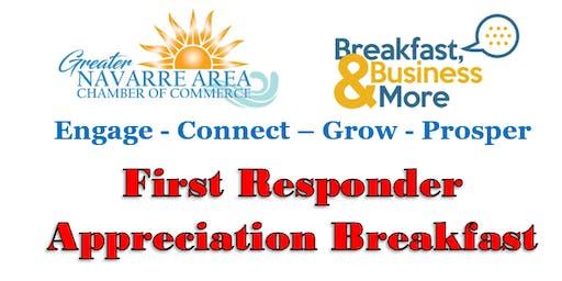 September Membership & First Responder Appreciation Breakfast