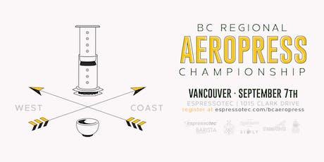 BC Regional Aeropress Championships tickets