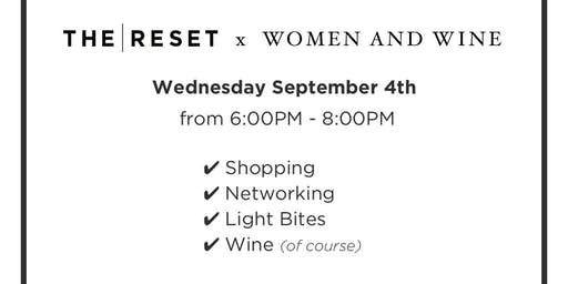 The Reset x Women and Wine