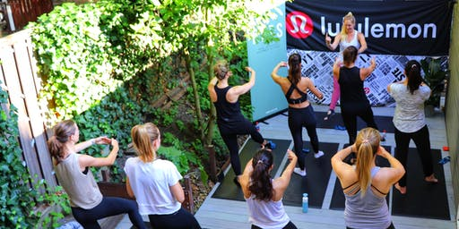 PLTS Barre Class with Taylor Geiger - lululemon Amsterdam