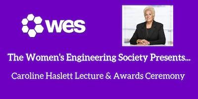 Caroline Haslett Lecture & Awards Ceremony