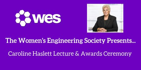 Caroline Haslett Lecture & Awards Ceremony tickets