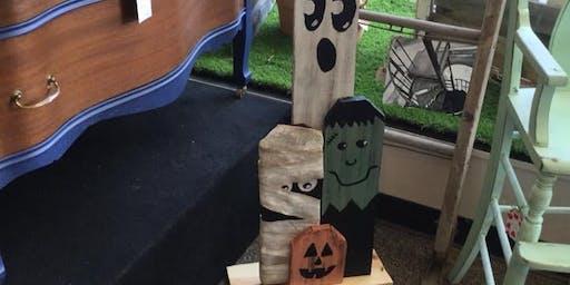 Halloween decoration workshop