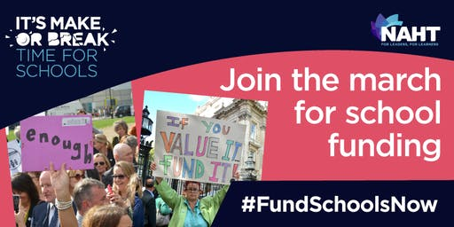 Fund Schools Now March & Rally