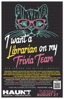 Trivia Night: I Want A Librarian On My Trivia Team