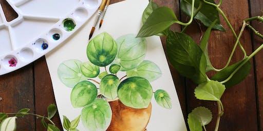 Craft Lab: Plant Pet Watercolors