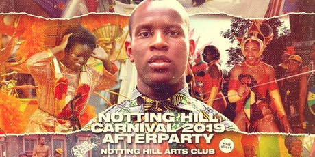 Notting Hill Carnival Afterparty - Love Ssega & Friends tickets
