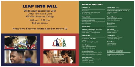 LEAP INTO FALL tickets