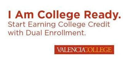 Valencia Dual Enrollment Spring Info and Application Help Session