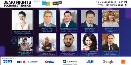 Demo Nights Bucharest // Digital Innovation tickets