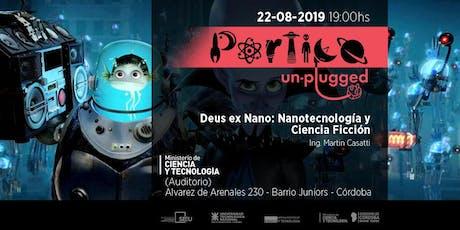 Pórtico Unplugged ¡en MinCyT! entradas
