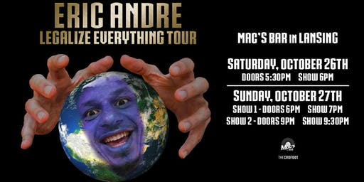 Eric Andre: Legalize Everything Tour
