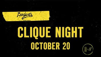 Twenty One Pilots Tribute Clique Night
