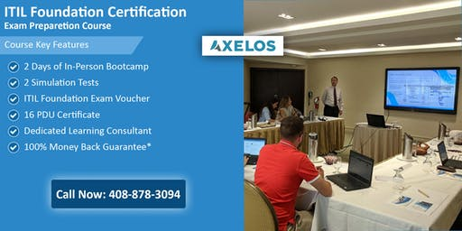 ITIL Foundation Certification Training In Raleigh, NC