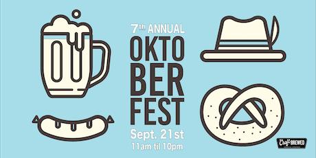 7th Annual Oktoberfest at Craft Brewed tickets