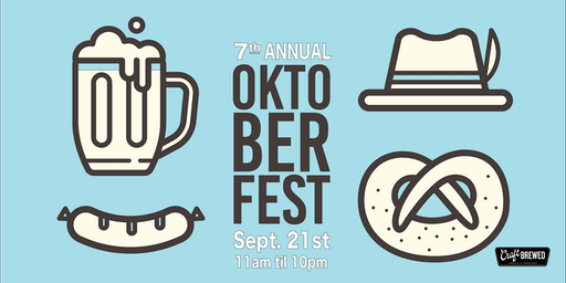 7th Annual Oktoberfest at Craft Brewed
