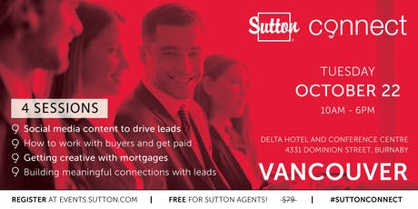 Sutton Fall Connect 2019 - Vancouver tickets