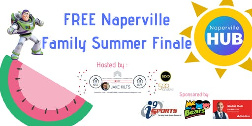 FREE Naperville Family Summer Finale!