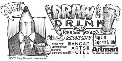 Angad Arts Hotel DRAW & DRINK Sept. 18th