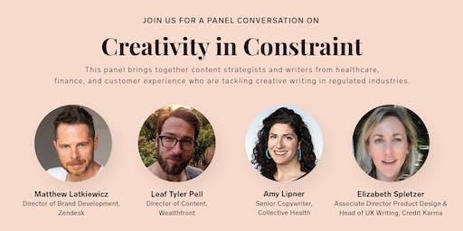 Creativity in Constraint
