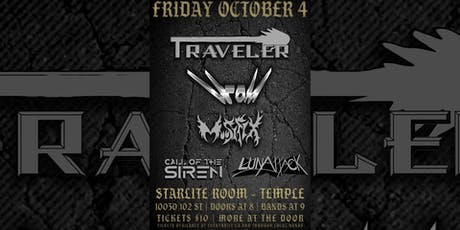 Traveler, Hrom, Moosifix, Call of the Siren & LunAttack tickets