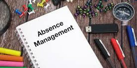 Managing Absence in the Workplace tickets