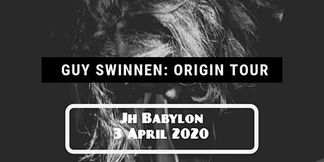 Guy Swinnen (The Scabs) - Origin Tour tickets
