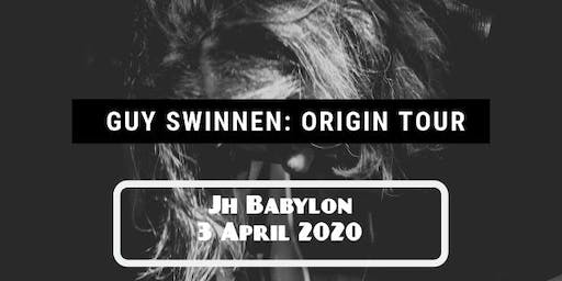 Guy Swinnen (The Scabs) - Origin Tour