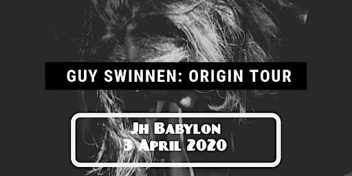 Guy Swinnen (The Scabs) - Origin Tour