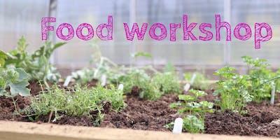 Food Workshop - Rainbow Salad Shaking