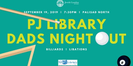 PJ Library Dads Night Out tickets