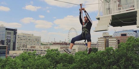 London Zip Wire Pop Up, South Bank with free Mega Drop* tickets