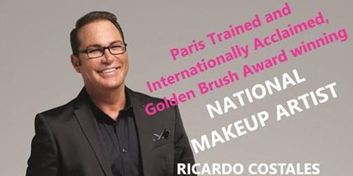 Lancome National Makeup Artist, Ricardo Costales & Team @ Belk West Town