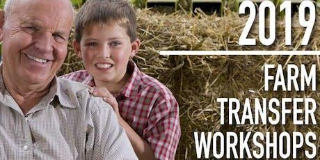 Farm Transfer Workshop, October 18, 2019 tickets