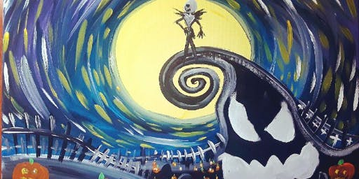 Painting & Pints - Nightmare Before Christmas