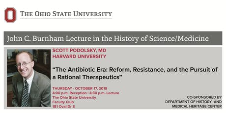 John C. Burnham Lecture in the History of Science/Medicine tickets