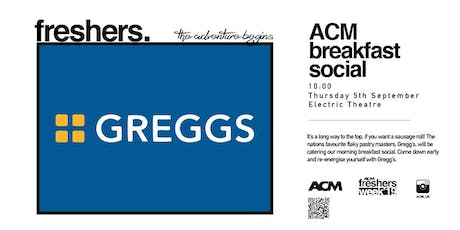 Gregg's Breakfast Social tickets