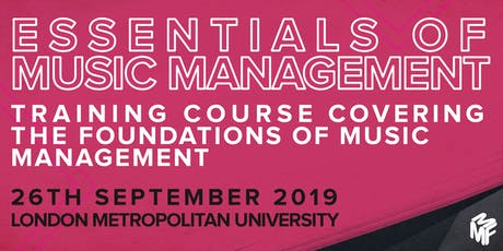 Essentials of Music Management tickets