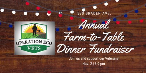 Farm-to-Table Dinner by Operation Eco Vets