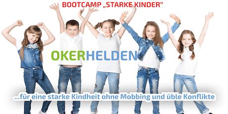 "OKERHELDEN Selbstbehauptungs-Bootcamp ""Starke Kinder"" tickets"