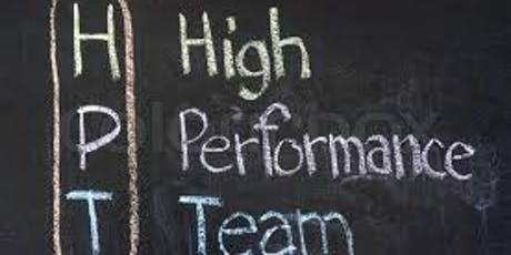 Building a High Performance Team Culture tickets